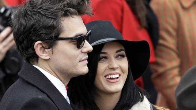 Was läuft denn da eigentlich? John Mayer und Katy Perry (Archiv)