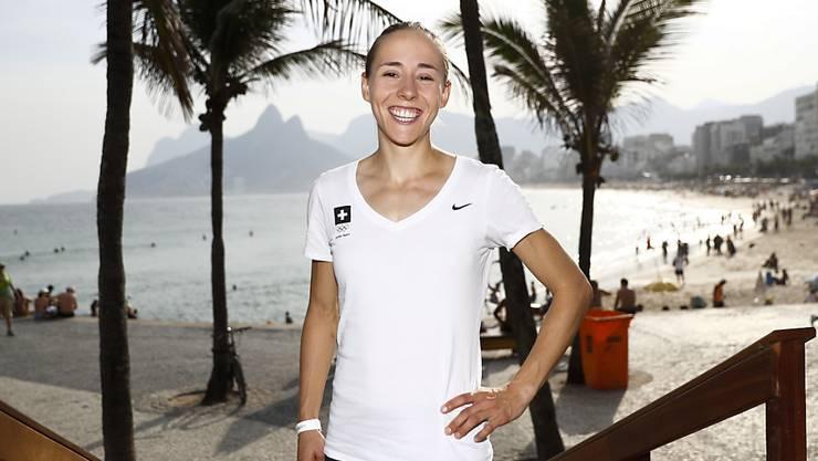 Selina Büchel zeigt sich optimistisch vor ihrem Einsatz am Mittwoch im Vorlauf über 800 m
