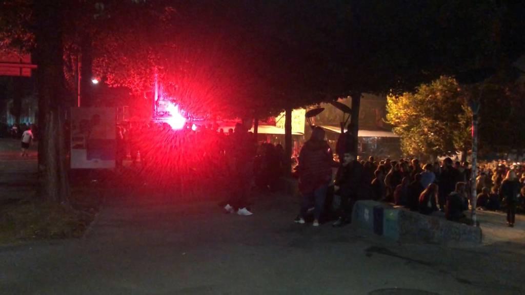 Polizei verhindert Umzug von Chaoten in die Berner Innenstadt