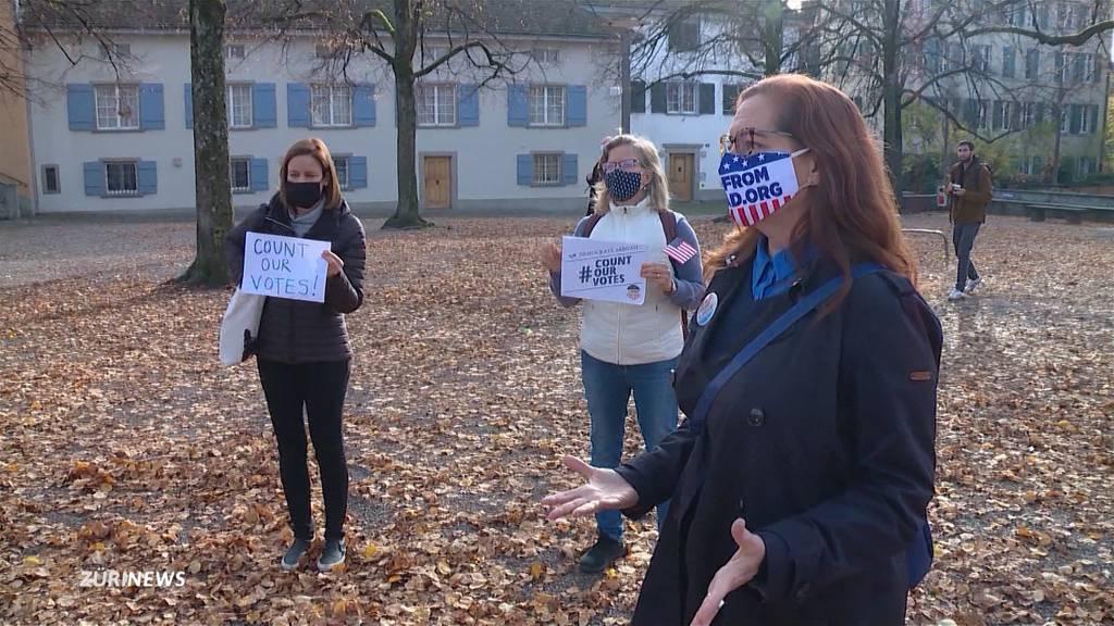 Trump-Protest in Zürich: Ausland-Demokraten machen sich Sorgen
