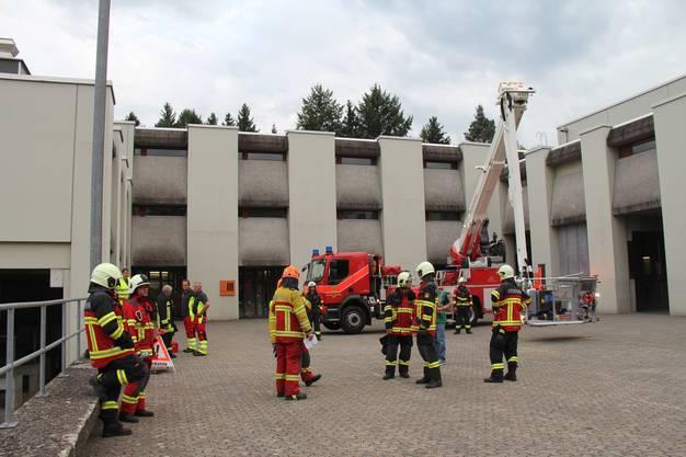 An der Übung standen rund 170 Personen im Einsatz.