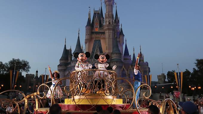 Normalerweise tummeln sich in den Walt-Disney Vergnügungsparks Millionen Menschen.(Archivbild)