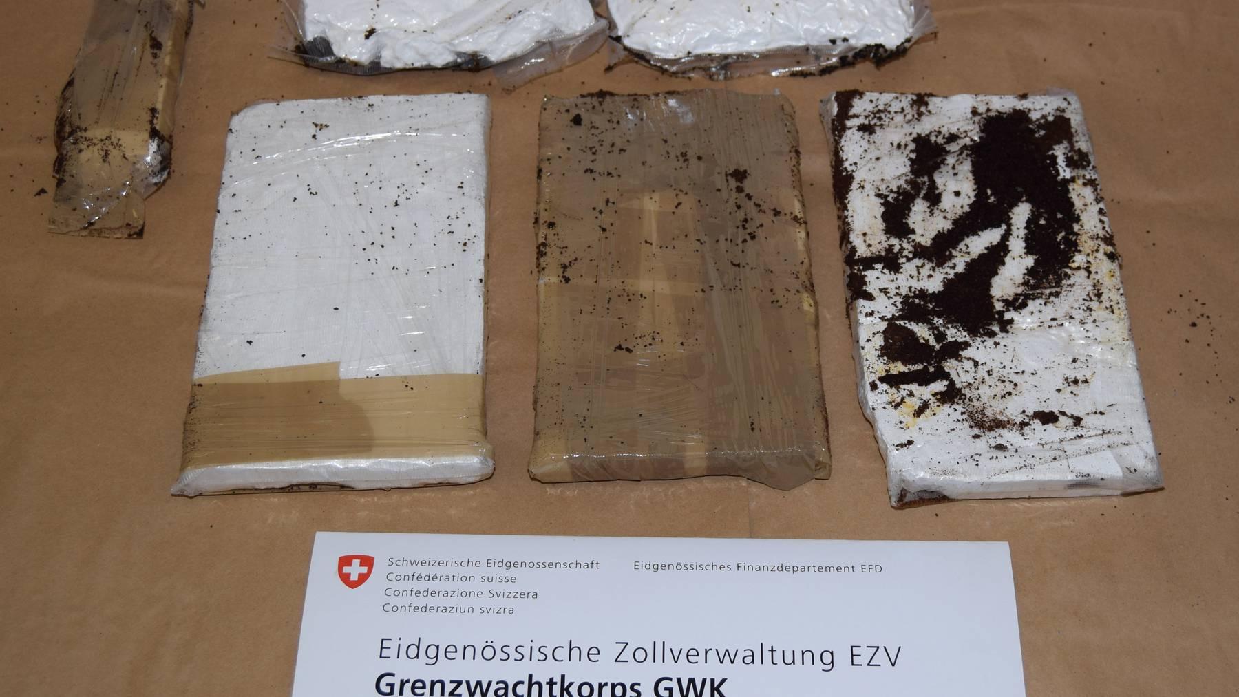 1,8 Kilogramm sichergestelltes Kokain.