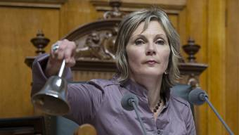 Maya Graf ist Nationalratspräsidentin