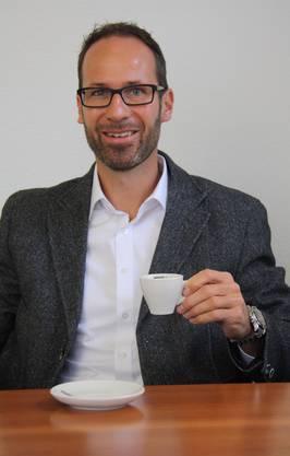 Kaffeeröster Bernhard Mollet bevorzugt einen schwarzen Espresso – ohne Zucker und anderen Schnickschnack.