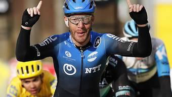 Giacomo Nizzolo gewann die 2. Etappe von Paris - Nizza