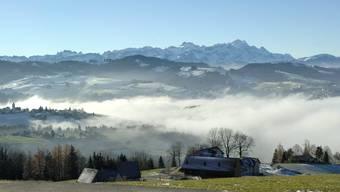 Der Weitblick kommt nicht von ungefähr: Das Appenzellerland aus Sicht von Rehetobel, im Hintergrund der Alpstein.Regina Kuehne/KEYSTONE