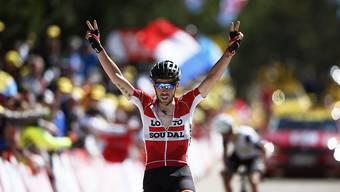 Der Belgier Thomas de Gendt gewinnt die 1. Etappe des Critérium du Dauphiné