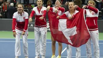 Die Schweizer Tennis-Spielerinnen starten in ein ungewisses Jahr