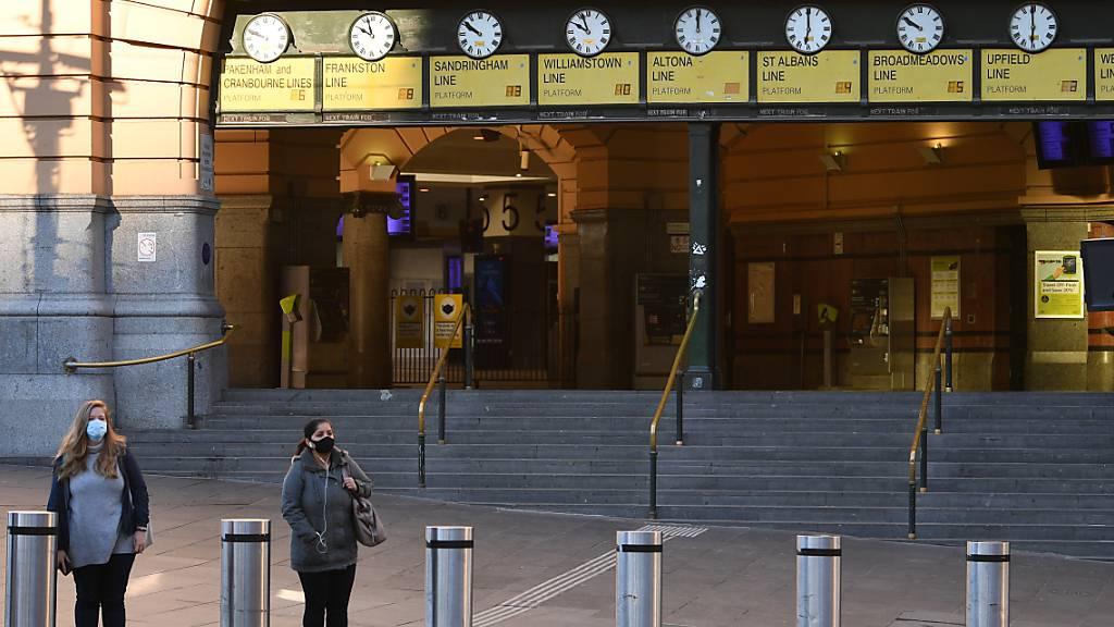Lockdown in Melbourne um eine Woche verlängert