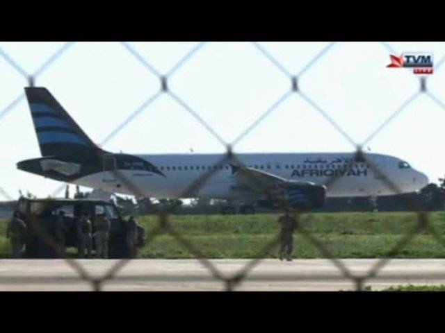 Airbus mit 188 Passagieren von Libyen nach Malta entführt