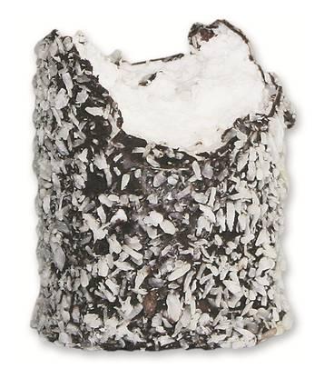 Optik: Hier bekommt man den Beggeschmutz nicht in einer Plastik- oder Papiertüte, sondern schön verpackt in einem durchsichtigen Säckchen mit Mäscheli. Vom Umfang her ist diese Kalorienbombe auf jeden Fall am grössten. Füllung: Das Innere fühlt sich im Mund klebrig und fest an. Geschmack: angenehm süss. Sprich: süss, aber nicht zu süss. Ort und Preis: Barfüsserplatz, 2 Franken Note: 5,0