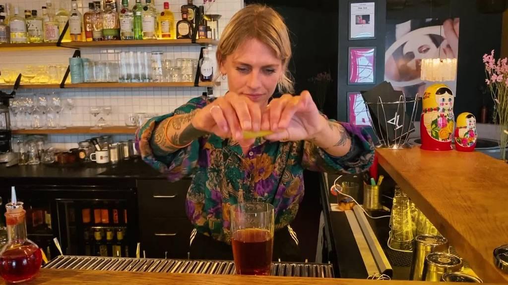 Judy aus Luzern ist nominiert als «Barkeeperin of the Year»
