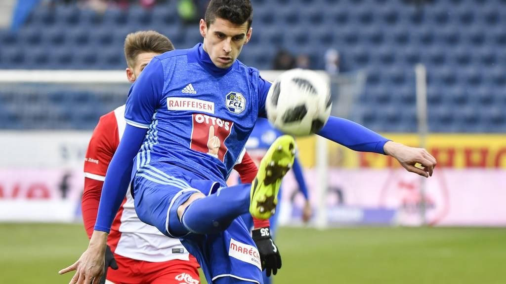 FC Luzern löst Vertrag mit Cirkovic per sofort auf