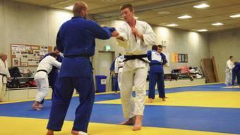 Judokas im Ausbildungszentrum Mülimatt: Sie empfinden die Ehrung zum «Aargauer Sportler des Jahres» als grosse Anerkennung für ihre Leistungen.