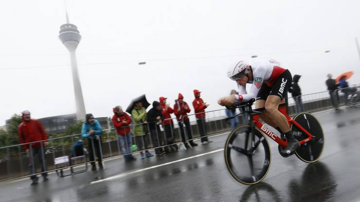 Stefan Küng hat das gelbe Leadertrikot bei seiner ersten Teilnahme an der Tour de France nur knapp verpasst.