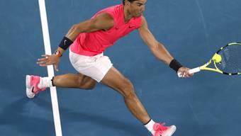 Rafael Nadal rang in einem packenden Kampf Nick Kyrgios in vier Sätzen nieder