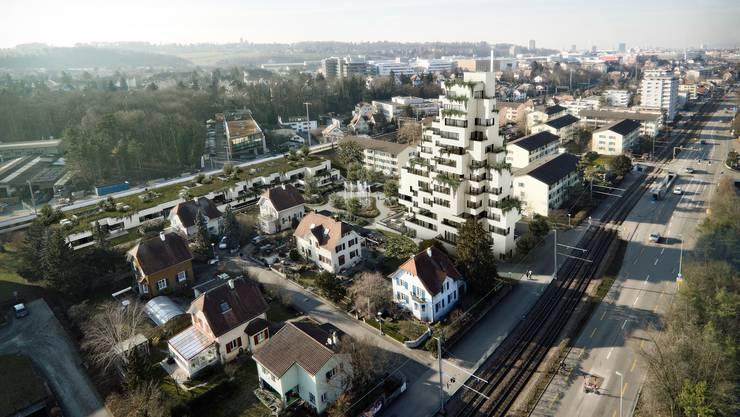 Der Bau des neuen Hpcjhauses kostet rund 38 Millionen Franken.