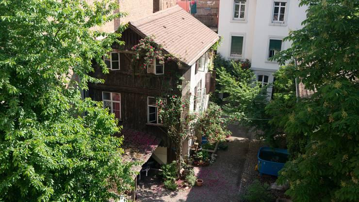 «In der Kleinbasler Altstadt verbergen sich viele grüne Oasen.» (Archiv)