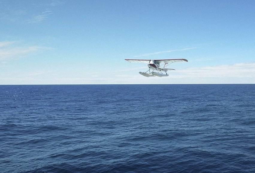 Sollen so schnell wie möglich wieder starten können: Flugzeug der humanitären Piloteninitiative.