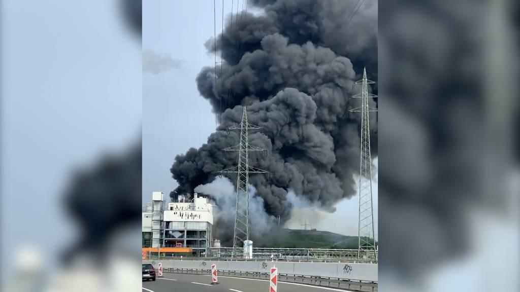 «Extreme Gefahr»: Explosion in Leverkusener Chemiepark – mehrere Verletzte