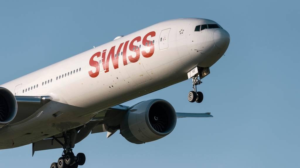 Swiss beförderte letztes Jahr über 18 Millionen Passagiere