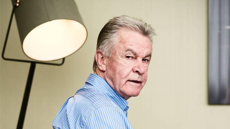 Ottmar Hitzfeld - Hatte von Anbeginn ein sehr nahes Verhältnis zur Schweiz.