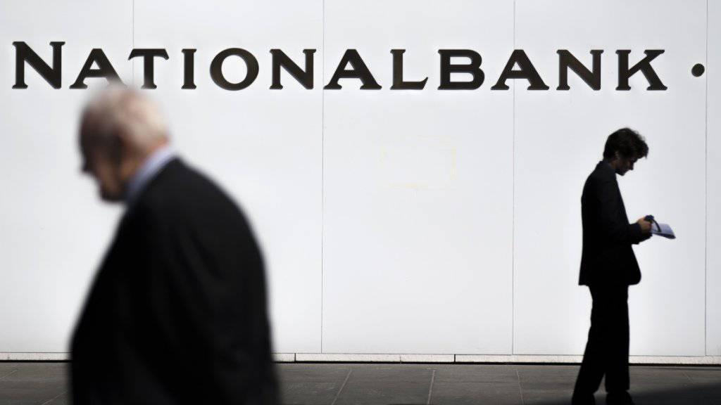Die Nationalbank hält an ihrer bisherigen Geldpolitik fest. Zu Reden gibt indes eine leichte rhetorische Anpassung.