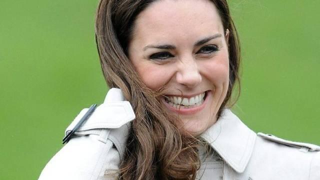 Kate Middleton letzten Dienstag in Antrim, Nordirland