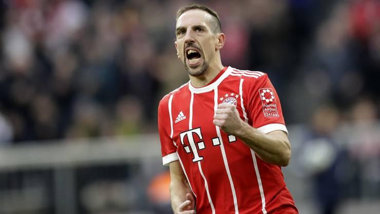 Spielt neu für Fiorentina: Franck Ribéry.