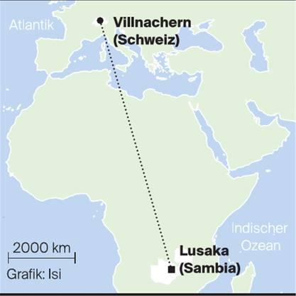 Die 26-Jährige zieht drei Jahre in den Süden des afrikanischen Kontinents.