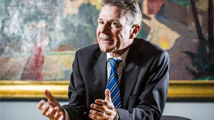 Peter Bühlmann, tritt als CEO der NAB ab. Chris Iseli