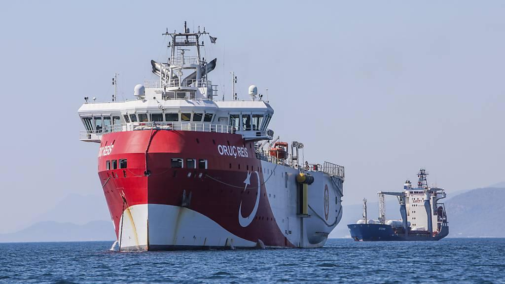 Türkei verlängert Suche nach Erdgas im östlichen Mittelmeer