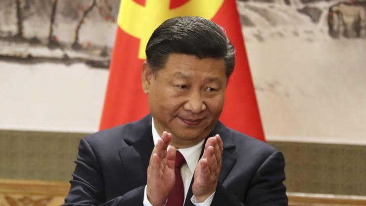 Die Amtszeit von Chinas Präsident Xi Jingping könnte sich ohne Begrenzung verlängern (Archiv)