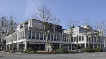 Der Hauptsitz der Basellandschaftlichen Kantonalbank an der Rheinstrasse in Liestal.