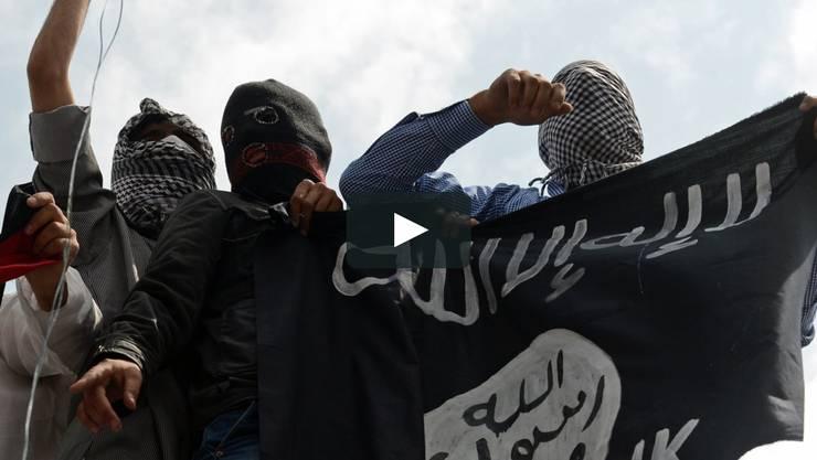 Kämpfer des Islamischen Staates.
