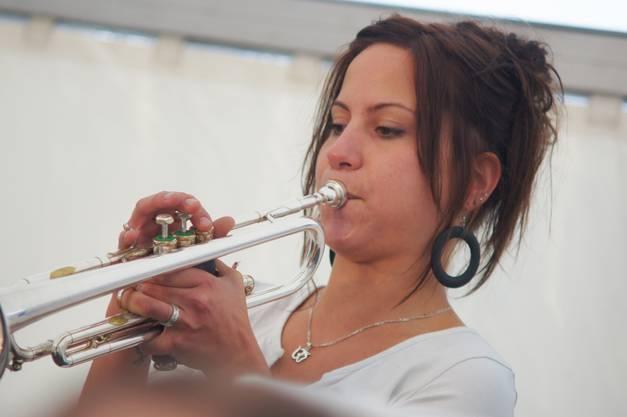 Ludivine Doucourt vom Jura Orchester zeigte eine beachtliche Leistung