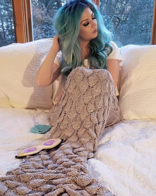 Decken für Nixen (© Instagram.com/xomodelmelissa)
