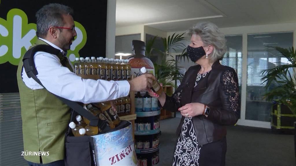 EVP-Nationalrat erfrischt das Bundeshaus mit seiner Ingwer-Limo