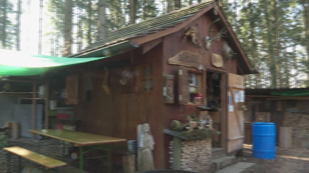 Bischofszell: Pensionär stellt Holzkunst im Wald aus
