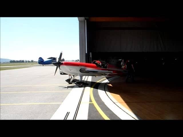 Kunstflug-Training am Flughafen Grenchen