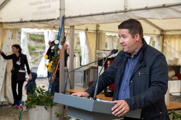 Christoph Heiniger, Gemeindepraesident Flumenthal