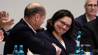 Andrea Nahles erste Frau an SPD-Spitze (22.04.2018)