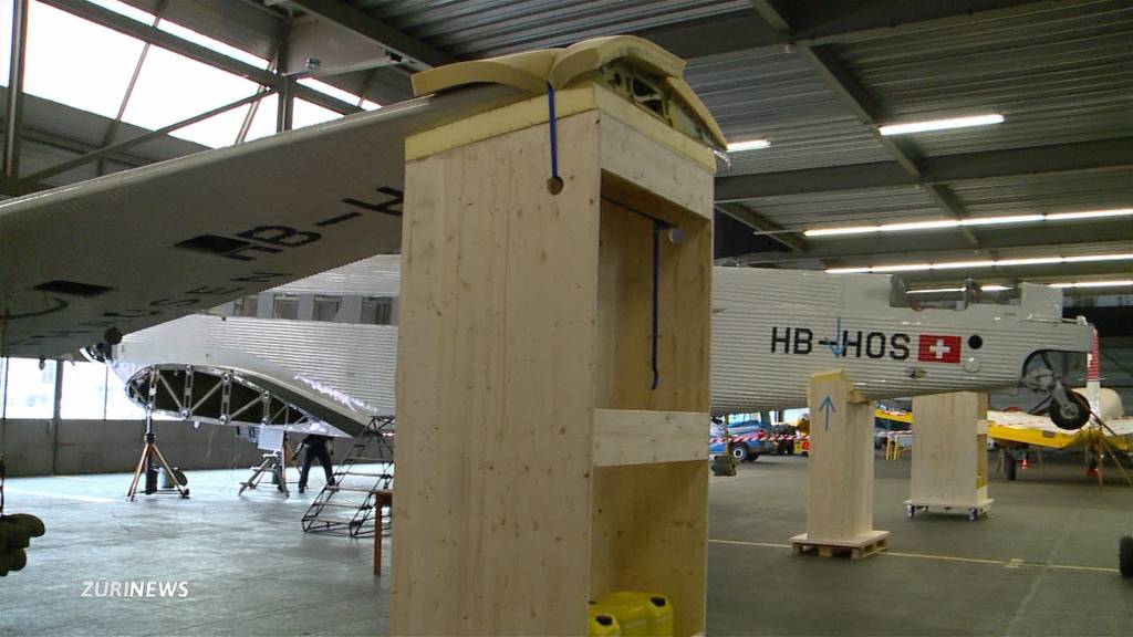 Reparaturverbot für Ju-Air-Flugzeuge