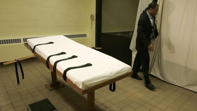 Ein Exekutionsraum im US-Bundesstaat Ohio (Archiv)