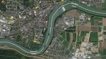 Der Rhein bei Stein / Bad Säckingen