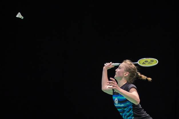 Die drittbeste Badmintonspielerin der Schweiz will sich nächstes Jahr in die Top 100 der Weltrangliste spielen.