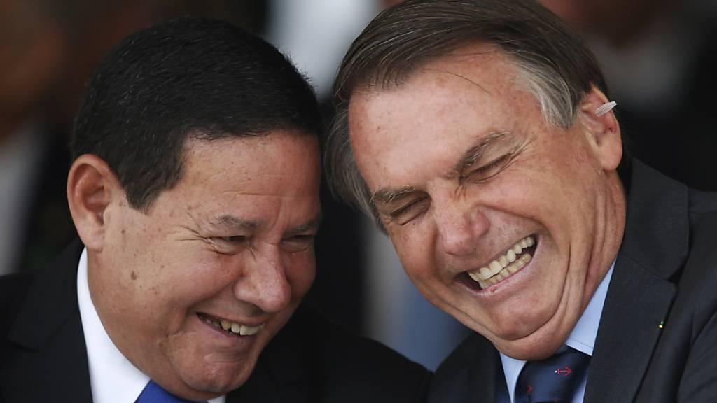 Brasiliens Vize-Präsident Mourão mit Coronavirus infiziert