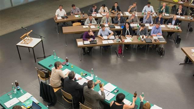 Der Einwohnerrat Baden hat das Budget 2017 genehmigt. (Archivbild)