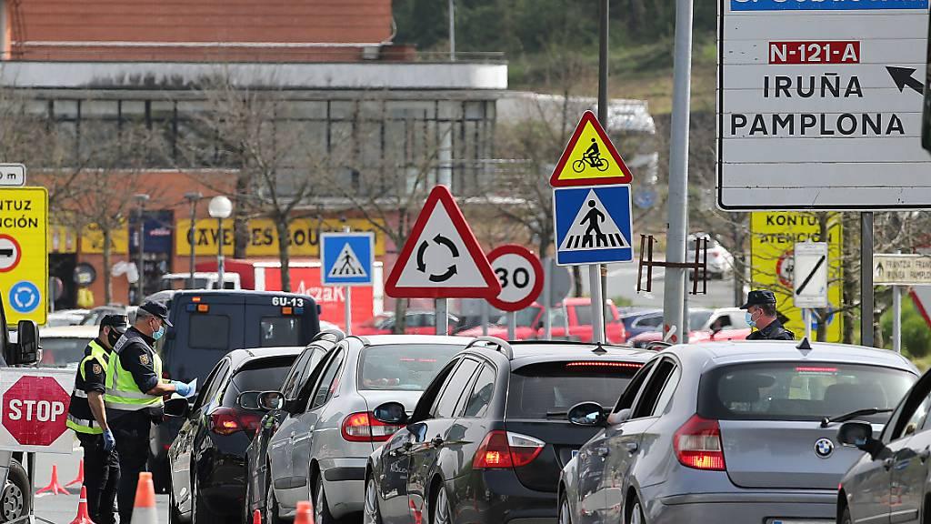 Geisterfahrer in Spanien mit Schweizer Leiche auf Beifahrersitz